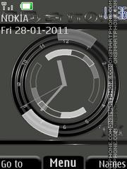 Clock(AR) tema screenshot