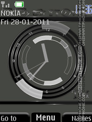Clock(AR) theme screenshot