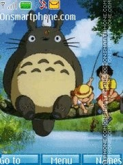 Tonari no Totoro tema screenshot