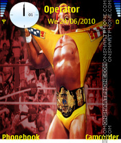 Скриншот темы Hulk Hogan