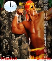 Hulk Hogan Pose theme screenshot