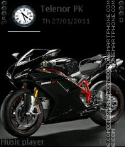 Ducati 1198sp theme screenshot