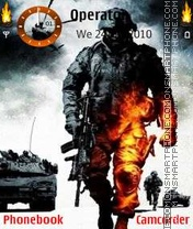 Скриншот темы Battlefield