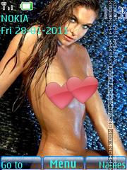 Sexy model54 theme screenshot