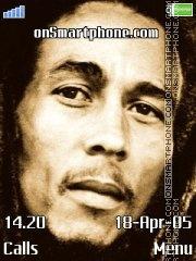 Bob Marley es el tema de pantalla