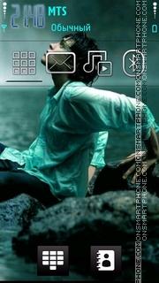 Alone Boy 02 theme screenshot