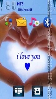 Love You 16 es el tema de pantalla
