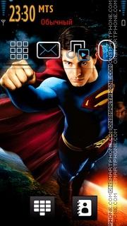 Скриншот темы Superman 07