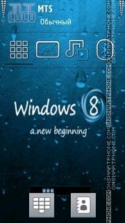 Скриншот темы Windows 8 New