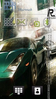 Nfs Car 05 theme screenshot