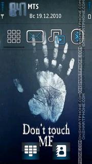 Dont Touch 15 es el tema de pantalla