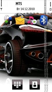 Bmw 2012 Theme-Screenshot