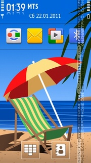 Summertime 2011 tema screenshot