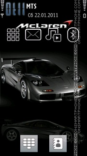 Mc Laren theme screenshot