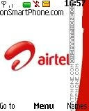 Airtel logo theme screenshot