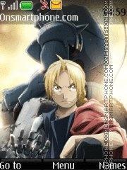 Full Metal Alchemist:Brotherhood theme screenshot