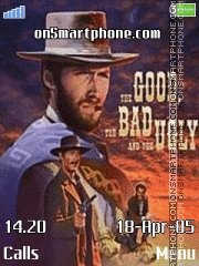 The Good, The Bad, and The Ugly es el tema de pantalla