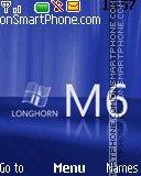 Longhorn m6 es el tema de pantalla