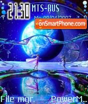 Earthlight tema screenshot