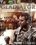 Gladiator es el tema de pantalla