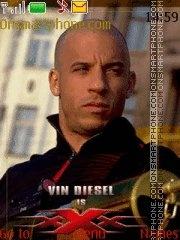 Vin Diesel theme screenshot
