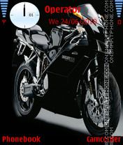Ducati Superbike theme screenshot