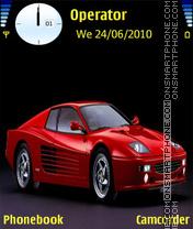 Ferrarif 512m theme screenshot