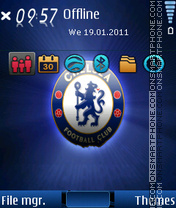 Chelsea 2017 theme screenshot