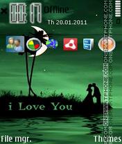 I Love You 34 theme screenshot
