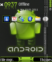 Android 11 theme screenshot