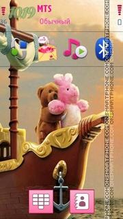 Cute Love 06 es el tema de pantalla