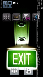 Exit 04 theme screenshot
