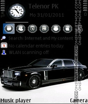 Rolls-Royce Phantom theme screenshot