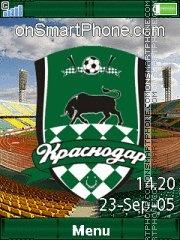 Скриншот темы FC Krasnodar Yari