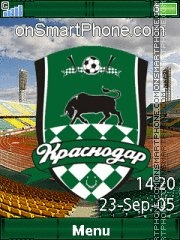 FC Krasnodar C902 Theme-Screenshot