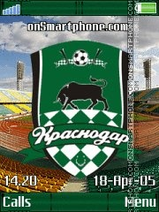 FC Krasnodar K850 theme screenshot