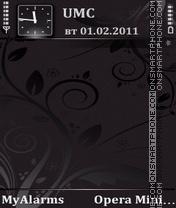 Black Rounds(def) theme screenshot