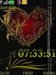 heart anim swf tema screenshot