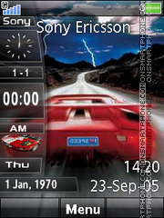 Car Slide Bar theme screenshot