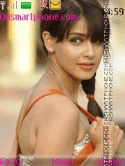Genelia Dsouza 06 theme screenshot