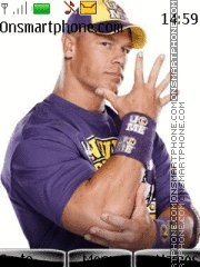 John Cena With Tone 02 theme screenshot