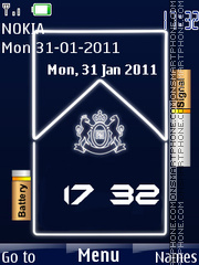 Marlboro Battery theme screenshot