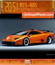 Скриншот темы Lamborghini V2