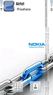 Nokia 7239 theme screenshot