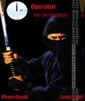 Ninja San theme screenshot