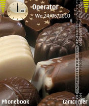 Chocolate theme screenshot