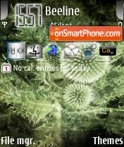 Скриншот темы Greenmood