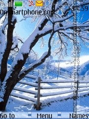 Winter Season 01 es el tema de pantalla
