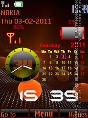 Calendar_Battery theme screenshot