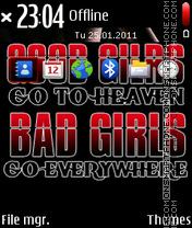 Gud Bad theme screenshot